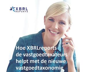 XBRLreports helpt vastgoedtaxateurs met de nieuwe vastgoedtaxonomie