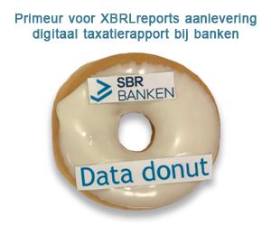 Primeur voor XBRLreports aanlevering digitaal taxatierapport bij banken